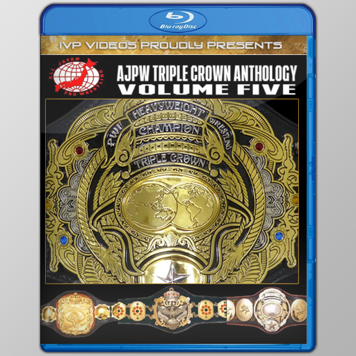 History of AJPW Triple Crown Title V.5 (Blu-Ray with Cover Art)